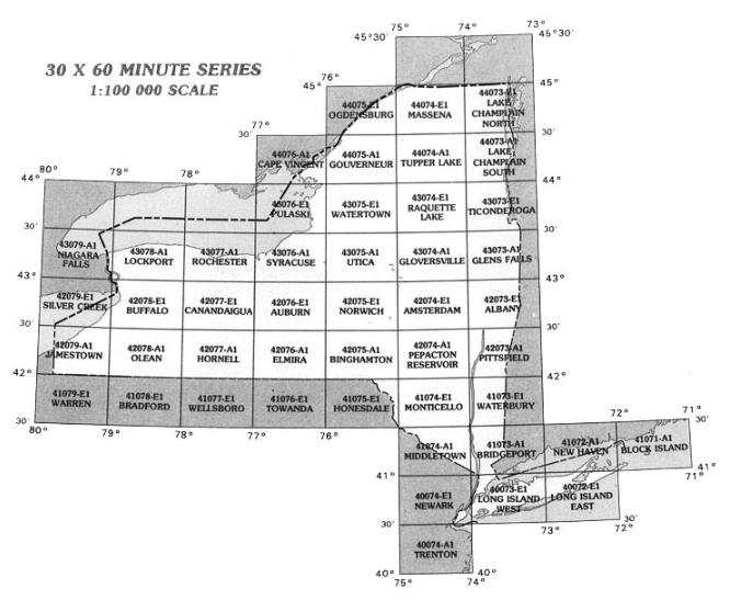 grid index map